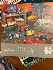Pedal to the Medal Jigsaw Puzzle by Hallmark New