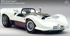 🔴 Exoto RLG18149 Chaparral 1966 Can-Am, Works Prototype in White NOS RRP $1495