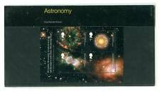 2002 GB Astronomy Sheet. Galaxy and Nebula Presentation Pack. SG MS2315