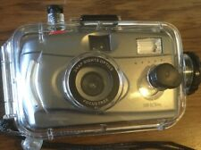 Snap Sights Film Camera w/ Underwater Case, Waterproof to 100ft, 35mm