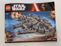 STAR WARS LEGO 75105 livret uniquement, only manual Millennium Falcon