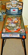 Harley Davidson Motor Cycles 2002 Table Top Free Standing Pinball Machine Toy