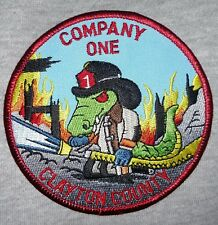 Georgia - Clayton County GA Fire Department Station One Patch