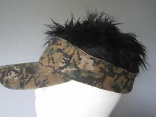 Crazy Caps, Crazy Hats,, Hair Hats, Hair Visor, Novelty Hats, Party, Golf .