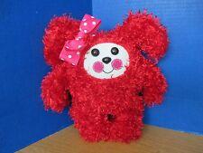 "ZOFTIG PALS~Red 12"" Plush STUFFED DOLL / ANIMAL~Very Cute!!"