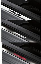 For HYUNDAI - 4 x Inner Door Sills CAR DECAL STICKER  Coupe  I20 - 150mm long