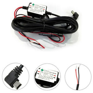12v 5V Hard Wire Power Battery Protected Kit Cable Charger Car Dash Cam Parking