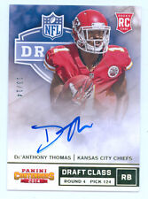 De'Anthony Thomas 2014 Contenders Draft Class Gold Auto Rc 13/14 Rookie