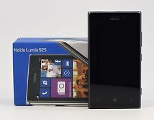 USED - Nokia Lumia 925 Black RM-892 (FACTORY UNLOCKED) 8.7MP PureView , 16GB