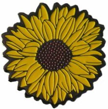 Authentically Shaped Sunflower Golf Ball Marker with Matching Hat Clip