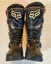 Fox Racing Youth Comp 5 Boys Kids MX Motocross Motorcycle Boots Size Y4 4