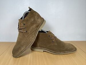 CLARKS WOMENS SUEDE LEATHER ANKLE SHOES SIZE UK 5 EUR 38