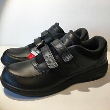 New Balance Men's MW813HBK Walking Shoe (1053) Black Leather Size 11.5M