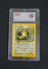 "Pokémon Raichu ""Base Set"" GRADED - SCC 8 PSA BGS alike"