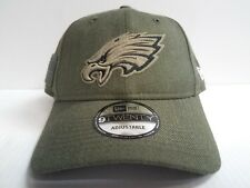 f35128a0c78 2018 Philadelphia Eagles Era 9twenty NFL Salute to Service Hat Dad Cap Adj