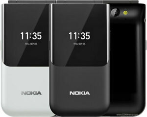 "Nokia 2720 Flip 4G 2.8"" Dual-core 2 MP Snapdragon 205 Phone USA Freeship"