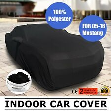 Full Car Cover Mold Mildew for Ford Mustang 2005-2016 Indoor Convertible Black