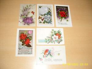 BUTTERFLY / BUTTERFLIES   -  COLLECTION OF VINTAGE   POSTCARDS