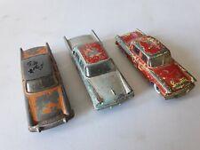 Dinky 179 Studebaker 180 Packard 192 Desoto x3 models for restoration