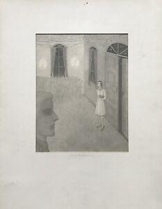 Erich Hahn Berlin First Encounter Love Interior 1979 New Objectivity