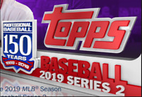 2019 TOPPS SERIES 2 FACES OF THE FRANCHISE UNIFORM TECHNOLOGY BALLPARK EVOLUTION
