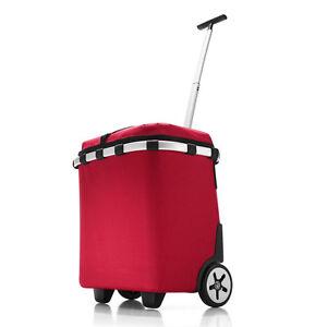 reisenthel shopping carrycruiser iso Einkaufstrolley/Einkaufsroller red