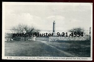 4534 - FORT ERIE Ontario Postcard 1910s View from Old Fort by Leslie