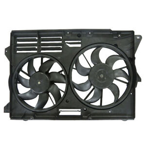 NEW DUAL RADIATOR AND CONDENSER FAN FITS FORD EXPLORER 2013-2017 DB5Z8C607C