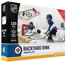 OYO NHL Hockey Backyard Rink Building Block Set, Winnipeg Jets