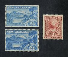 Ckstamps: Gb Stamps Collection New Zealand Scott#72-74 Mint H Og