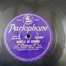 78 rpm BERLIN STATE OPERA - ARMAS JARNEFELT praeludium / rustle of spring EX