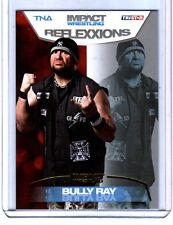 TNA Bully Ray #12 2012 Reflexxions GOLD Parallel Card SN 3 of 10