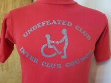 Vtg 80s Palomar College San Marcos California Wheelchair t shirt S/M 50/50