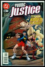 DC Comics YOUNG JUSTICE #4 NM+ 9.6
