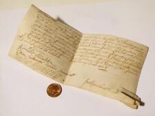 1684 Peter Garbutt - John Church SCARBOROUGH Vellum Seal Document #S11