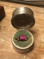 Ring Danish Hans Jensen! Vintage 14k Gold Ruby