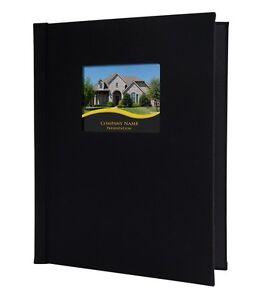 "2 x Pinchbook Photo Albums (8.5"" x 11.75"") (A4 Portrait) Black, With Window"