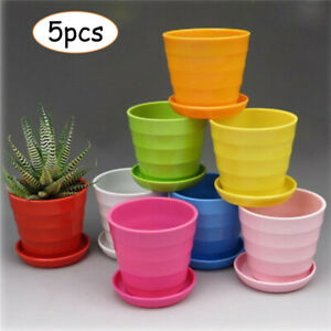 coisound 1688 Round Green Plastic Plants Pot Saucer Trays,for holding Soil and Water Drips,Excellent For Indoor /& Outdoor Plants. 5, 10in