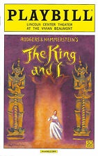 """Kelli O'Hara """"KING AND I"""" Rodgers & Hammerstein 2015 Opening Night Playbill"""