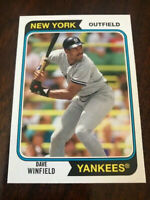 2020 TOPPS ARCHIVES DAVE WINFIELD NEW YORK YANKEES BASEBALL - B2370-4