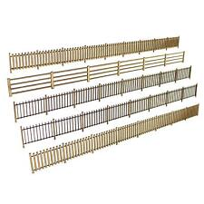 More details for wws oo gauge model fences 1mm mdf - railway modelling 00 scale railroad