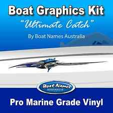 Boat Graphics Kit - Ultimate Catch