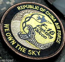 F-16 FIGHTING FALCON SWIRL CHINESE AIR FORCE RoCAF in TAIWAN SSI: We Own the Sky