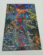 Spiderman masterprints fleer 1994  ( enemies lV )