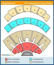 13rd Row CA Concert Tickets