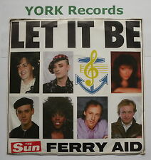 """FERRY AID - Let It Be - Excellent Condition 7"""" Single Sun AID 1"""