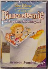 BIANCA E BERNIE NELLA TERRA DEI CANGURI DVD DISNEY SIGILLATO OLOGRAMMA TONDO