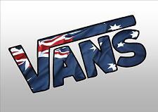 AUSTRALIA VANS  STICKER FOR UTE BOAT  CAR TRUCK WINDOW