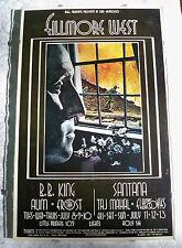 1969 Bill Graham Fillmore West Poster #181 B.B. King, Santana & Taj Mahal