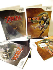 NINTENDO Wii THE LEGEND OF ZELDA TWILIGHT PRINCESS +LINK'S CROSSBOW TRAINING
